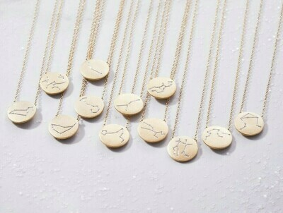 Ella Stein Zodiac Necklace (Gold)