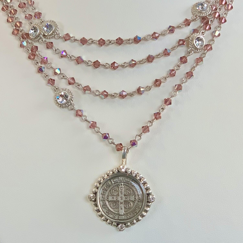 VSA San Benito Magdalena, Blush Rose AB, Silver