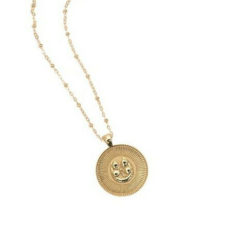 "Jane Winchester SMALL ""Lucky"" Coin Pendant"