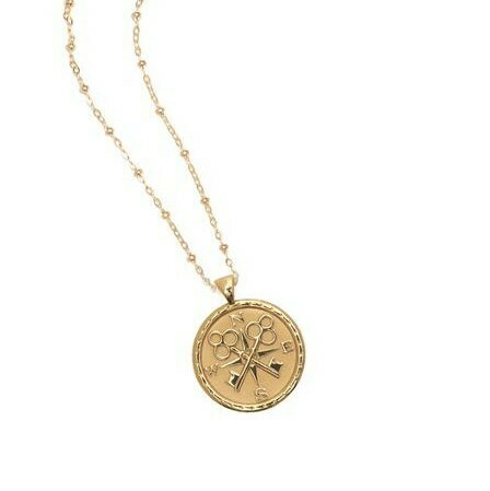 """Jane Winchester SMALL """"Forever"""" Coin Pendant"""