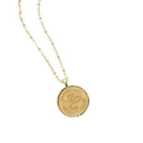 "Jane Winchester SMALL ""Protect"" Coin Pendant"