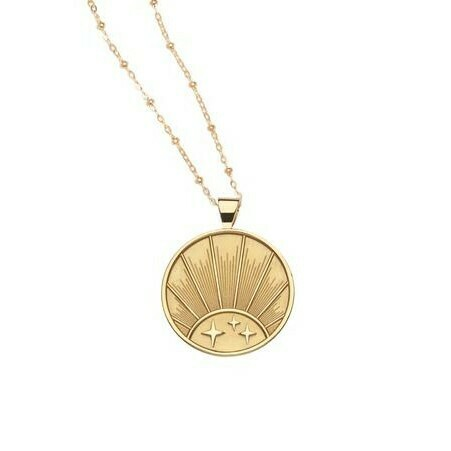 "Jane Win Original ""Strong"" Rising Sun Pendant"
