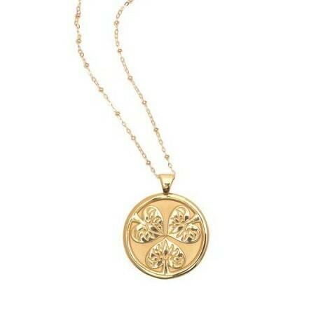 "Jane Win Original ""Joy"" Coin Pendant"