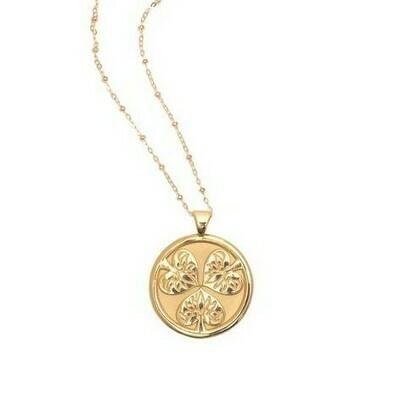 Jane Win Original JOY Coin Pendant