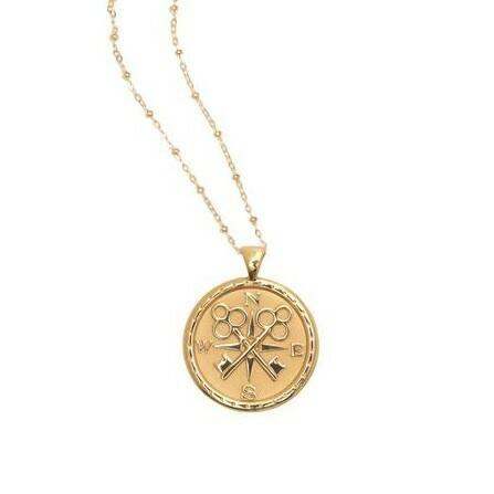 "Jane Win Original ""Forever"" Coin Pendant"