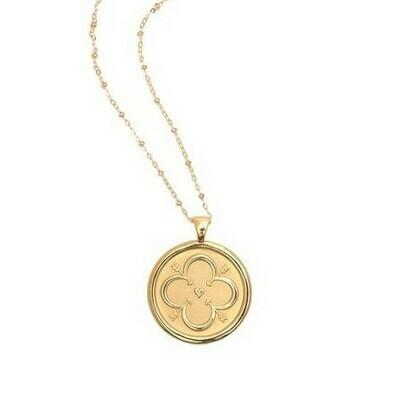 Jane Win Original LOVE Coin Pendant