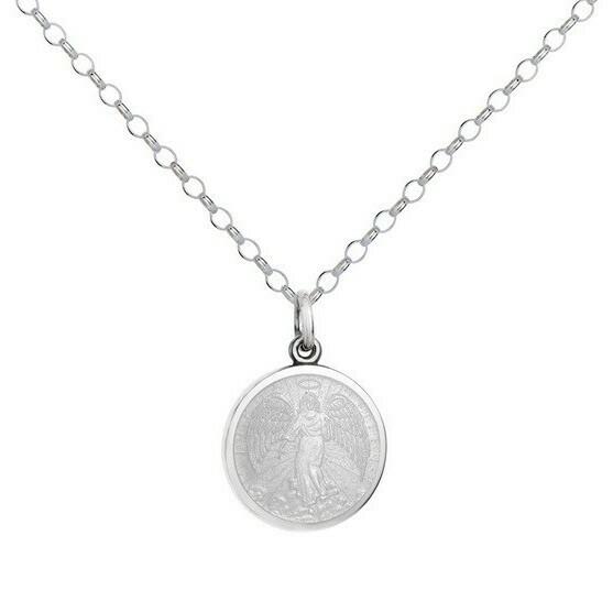 Colby Davis Angel Pendant, Small/White