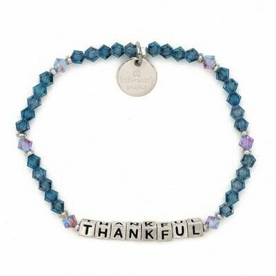 Little Words Project Silver THANKFUL Bracelet