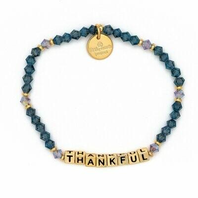 Little Words Project Gold THANKFUL Bracelet