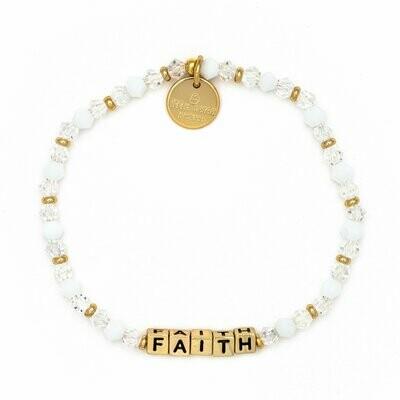 Little Words Project Gold FAITH Bracelet