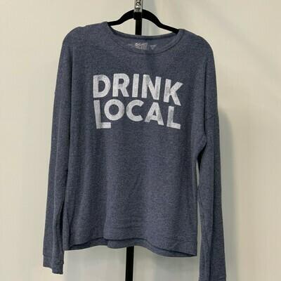 DRINK LOCAL Super Soft Hachi Sweatshirt