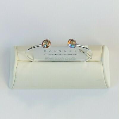 Balance Bracelet Silver/Light Colorado Topaz