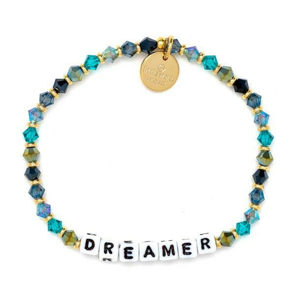 Little Words Project White DREAMER Bracelet
