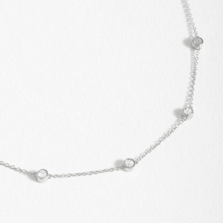 Ella Stein In the Loop Necklace (Silver)