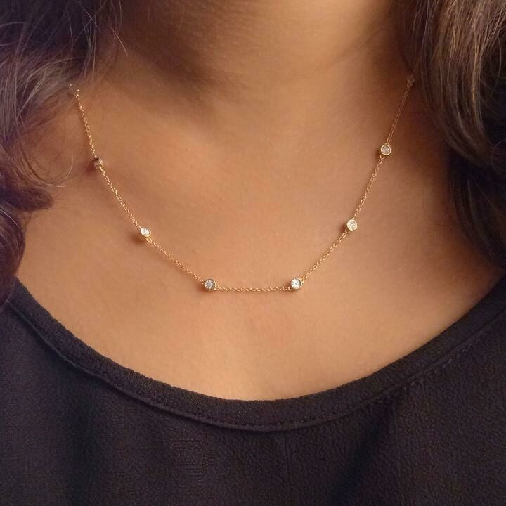 Ella Stein In the Loop Necklace (Gold)
