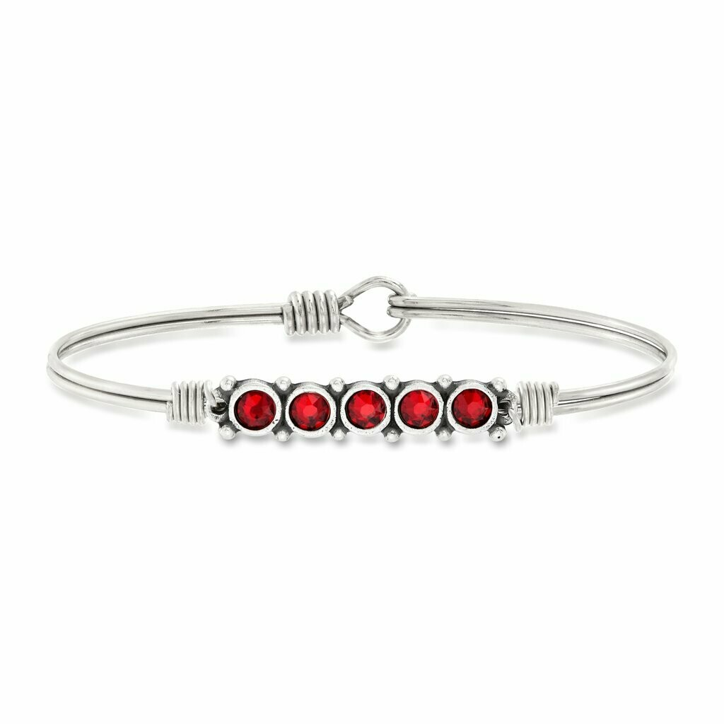 Luca + Danni January Birthstone Bracelet