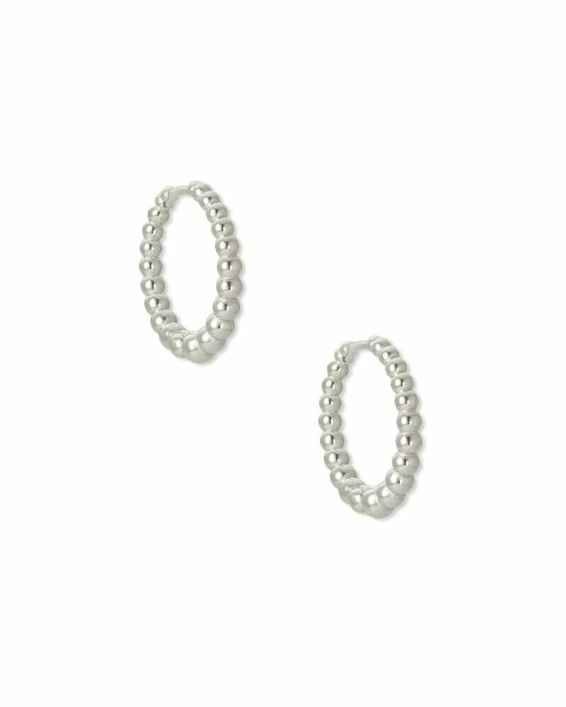 Kendra Scott Josie Huggie Earrings in Silver