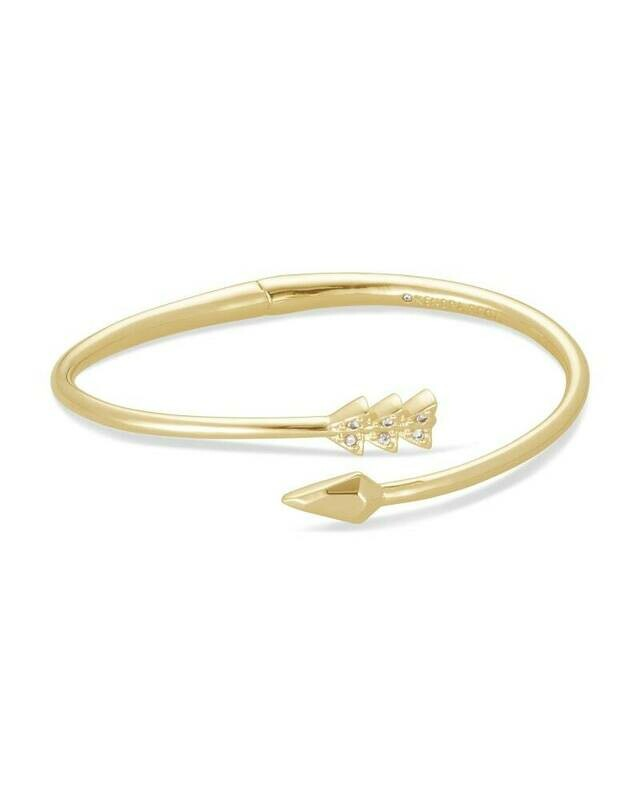 Kendra Scott Zoey Bangle Bracelet in Gold
