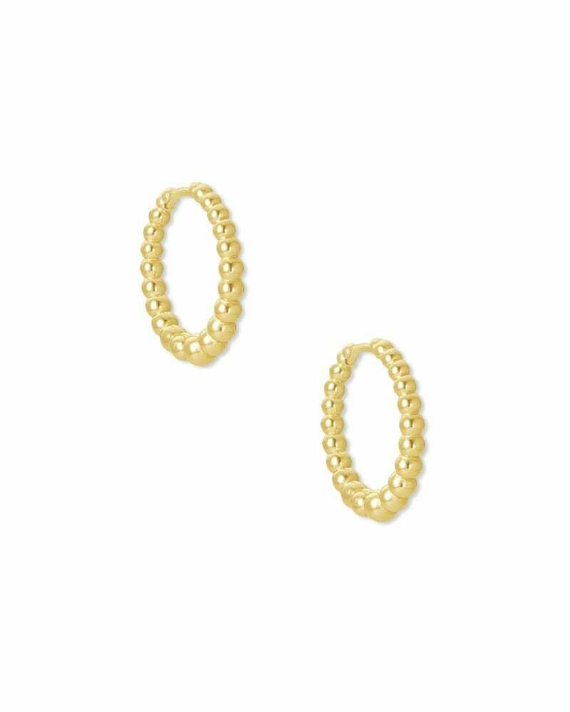 Kendra Scott Josie Huggie Earrings in Gold