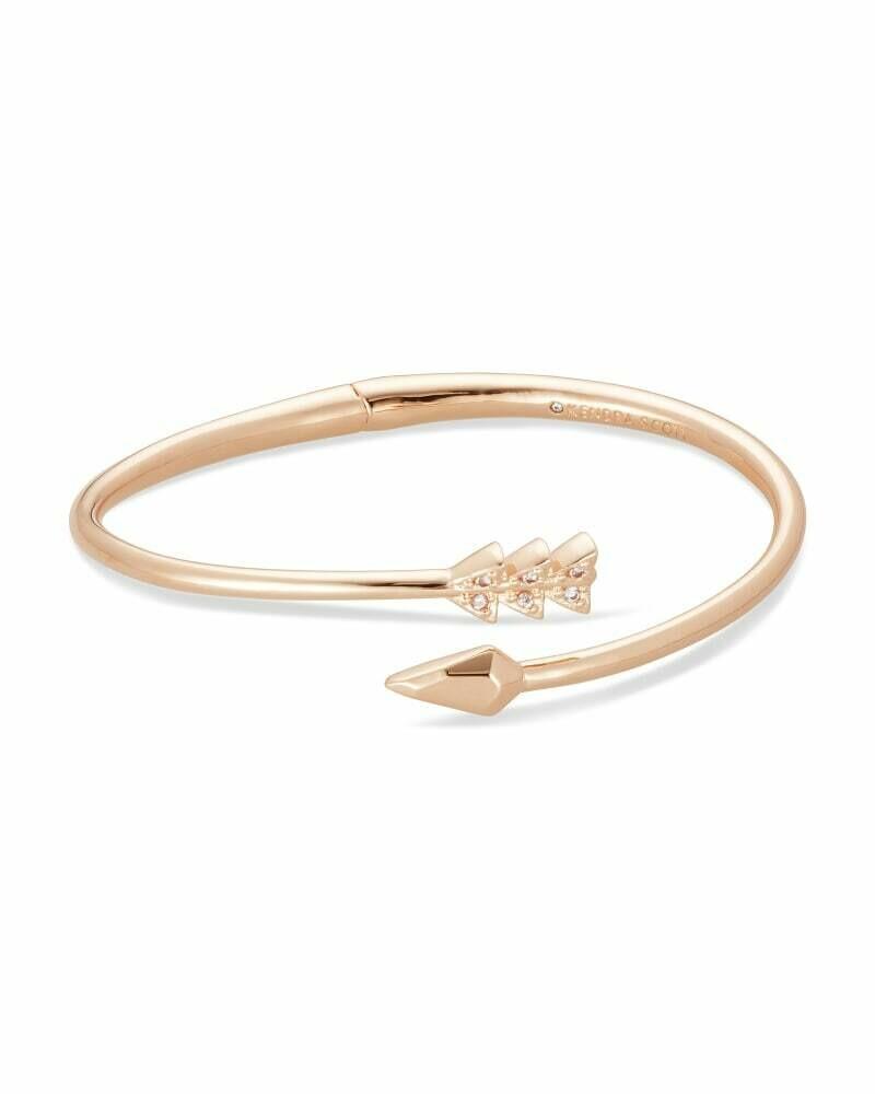 Kendra Scott Zoey Bangle Bracelet in Rose Gold