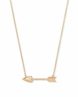 Kendra Scott Zoey Pendant Necklace in Rose Gold