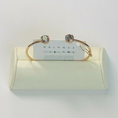 Balance Bracelet Gold/Iris Mist