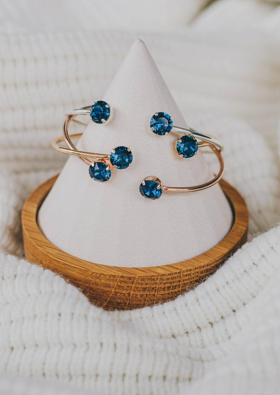 Balance Bracelet - Montana Blue