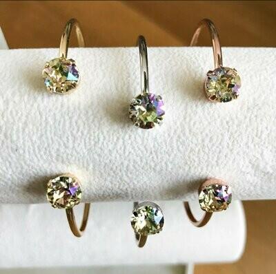 Balance Bracelet - Crushed Golden Crystal