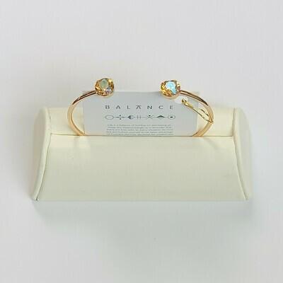 Balance Bracelet Gold/Light Colorado Topaz