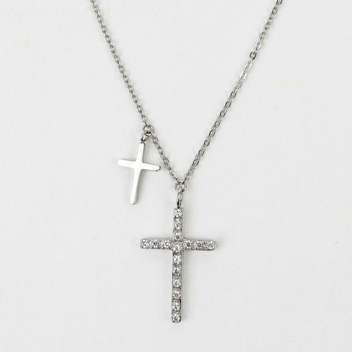 MSMH Walk By Faith Necklace (Silver)