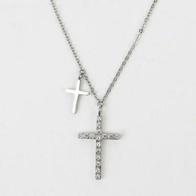 MSMH Walk By Faith Necklace (Silver)