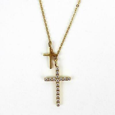 MSMH Walk by Faith Necklace (Gold)