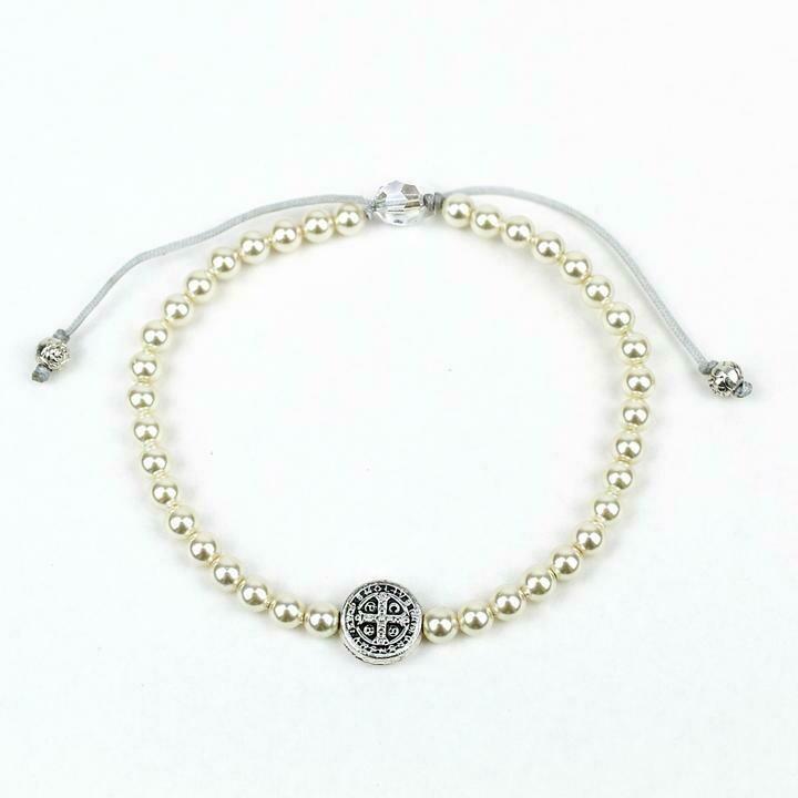 MSMH Pearl Birthday Blessing Bracelet (Silver)