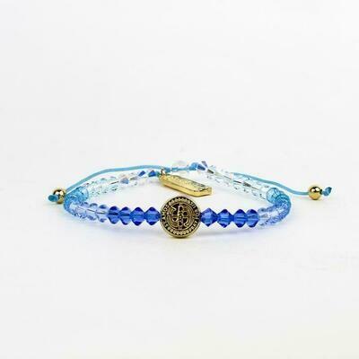 MSMH Love Lights the Way Bracelet (Blue Ombre)