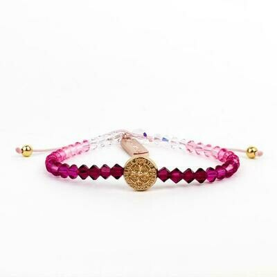 MSMH Love Lights the Way Bracelet (Pink Ombre)