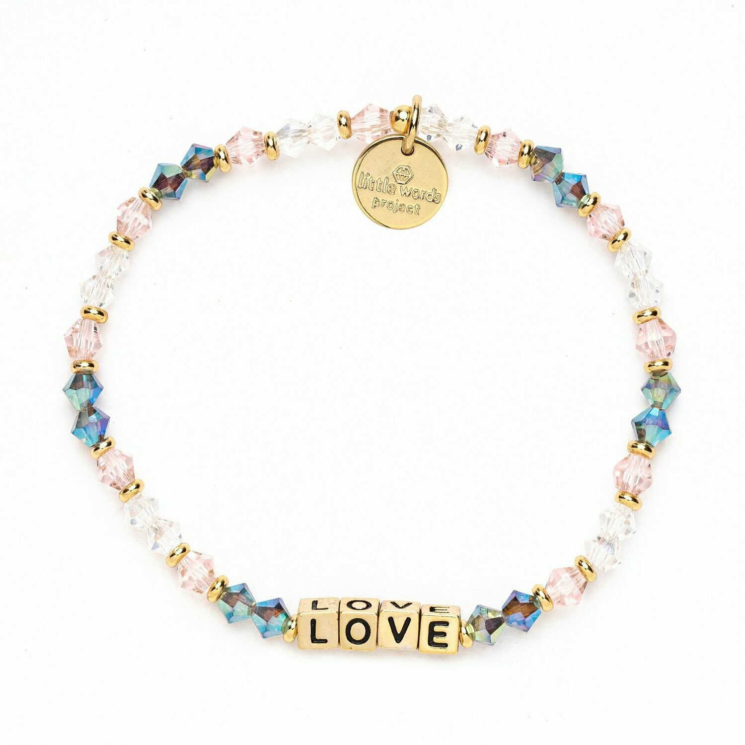 Little Words Project Gold LOVE Bracelet