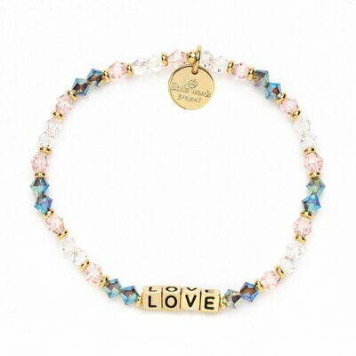 Little Words Project Gold LOVE Bracelet