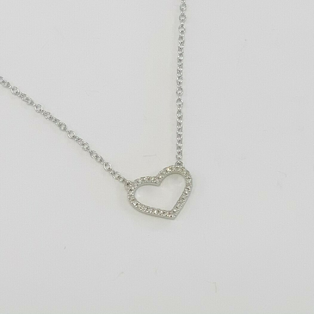 Ella Stein True Love Always Necklace (Silver)