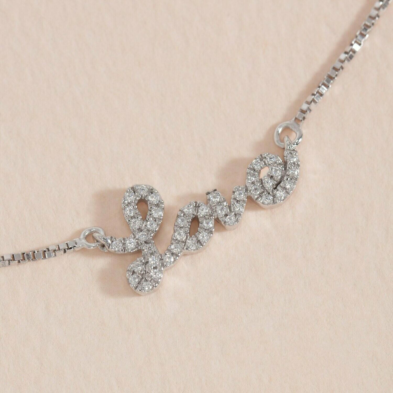 Ella Stein Love Conquers All Necklace (Silver)
