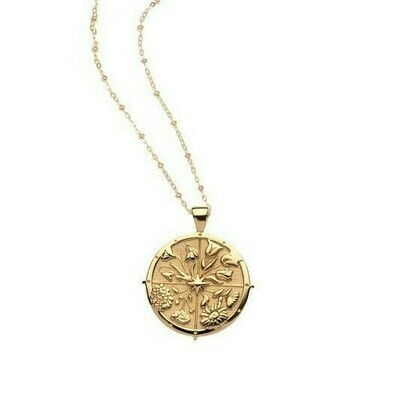 Jane Win Original HOPE Coin Pendant