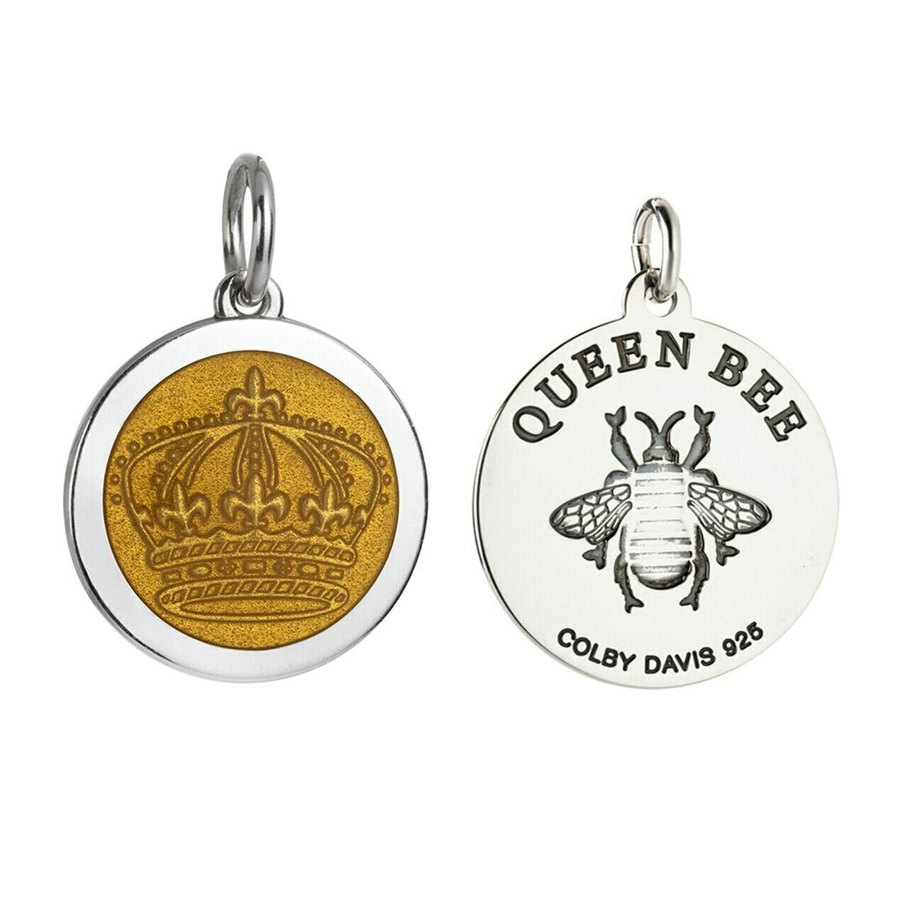 Colby Davis Queen Bee Pendant, Medium/Golden Yellow