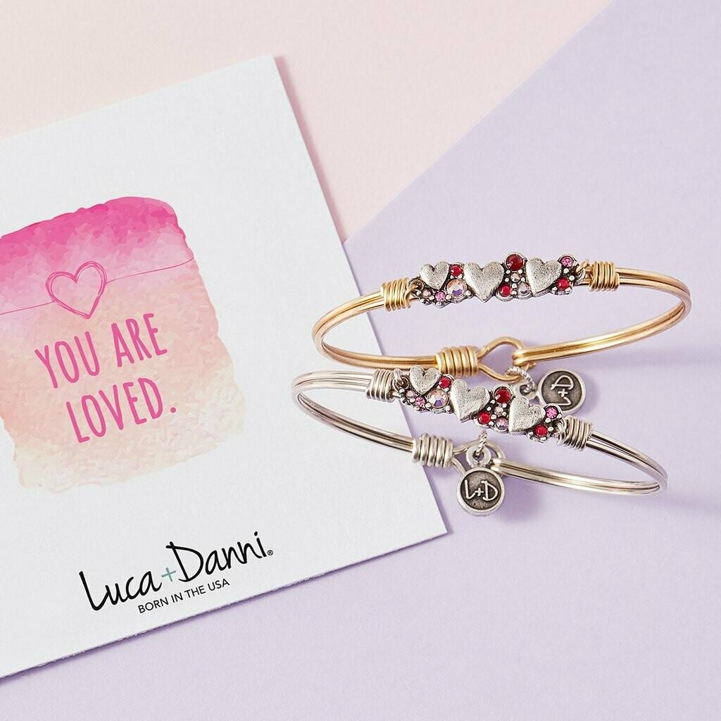 Luca + Danni Heart Medley Bracelet