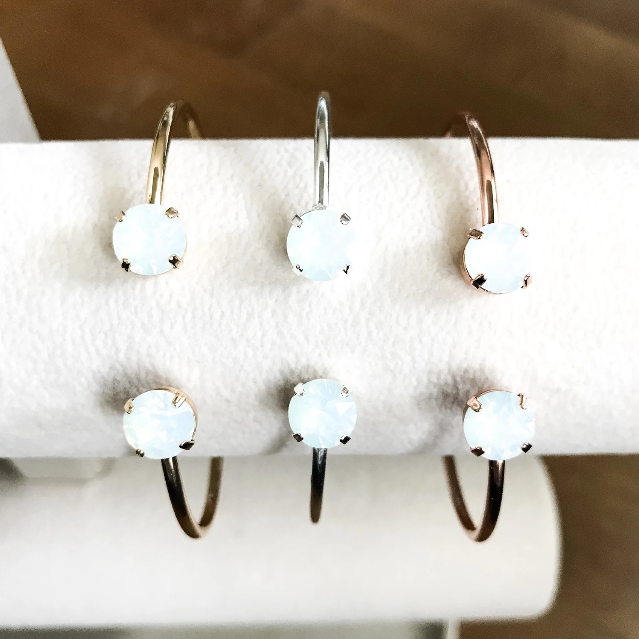 Balance Bracelet - White Opal