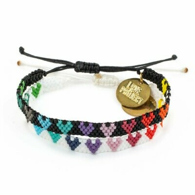 Love is Project Love is Love Bracelet Set of 2