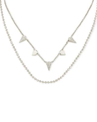 Kendra Scott Demi Multi Strand Necklace in Silver