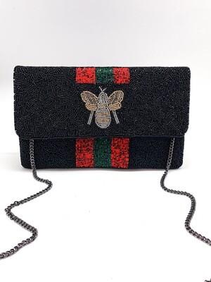 La Chic Bee You Black Bee Bag
