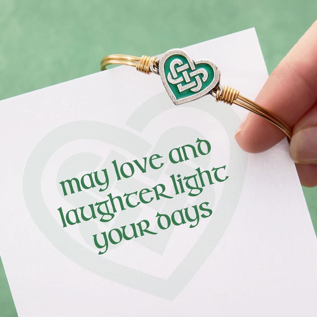 Luca + Danni Celtic Heart Bracelet