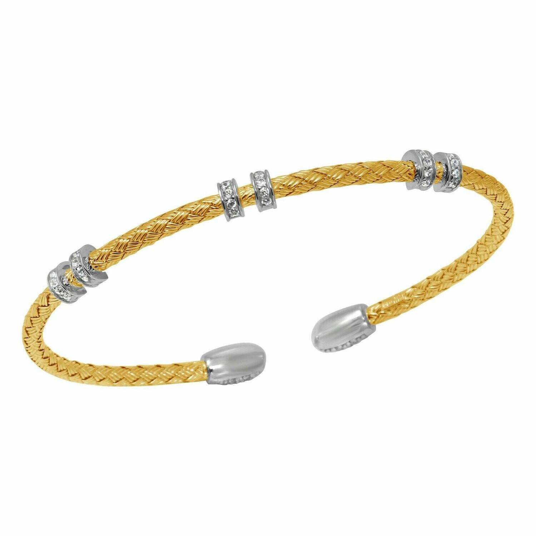 Charles Garnier Sephora Reversible Cuff, Gold