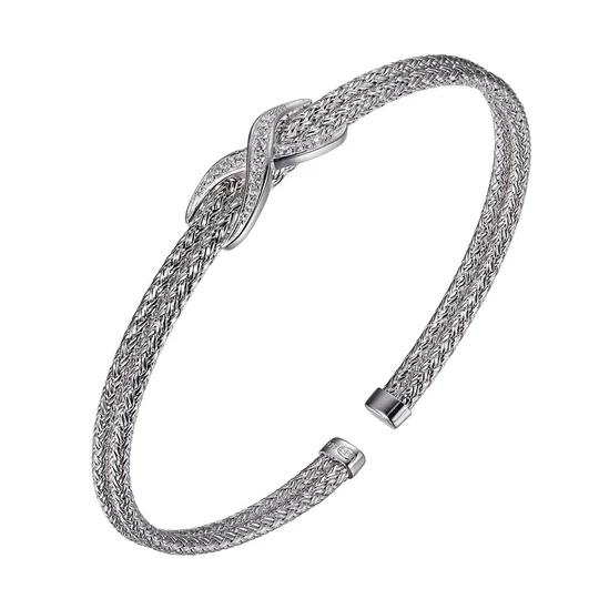 Charles Garnier Infinity Cuff, Silver