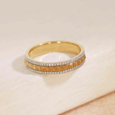 Ella Stein Pyramid Ring (Gold)